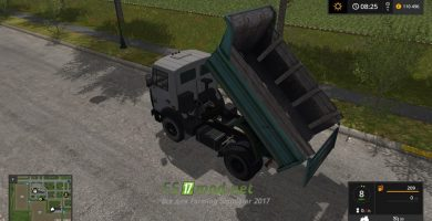 Мод на грузовик МАЗ 5551