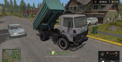 Мод на грузовик МАЗ 5551 для игры FS 2017