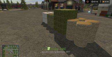 Мод на покупку тюков в игре Farming Simulator 2017