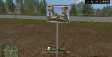 Мод на Рекламный щит для игры FS 2017