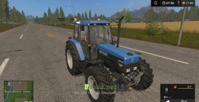 Мод на трактор New Holland 8340