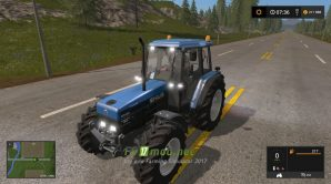 Мод на трактор New Holland 8340 для игры FS 2017