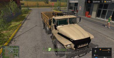 Мод на грузовик УРАЛ 5557 Самосвал