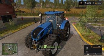 New Holland T7 HD