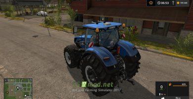 Мод на Трактор New Holland T7 HD для игры Симулятор Фермера 2017