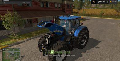 Мод на Трактор New Holland T7 HD
