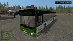 Мод на автобус Man Lions City Tcam для игры Фарминг Симулятор 2017