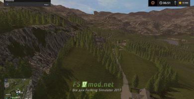 Мод на карту Styria Mountains для игры FS 2017