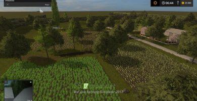 Мод на карту Rolnikowo для игры Симулятор Фермера 2017