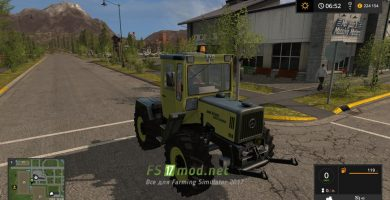 MB TRAC 900 Turbo Forst Vision
