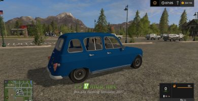 Renault 4l by codis76