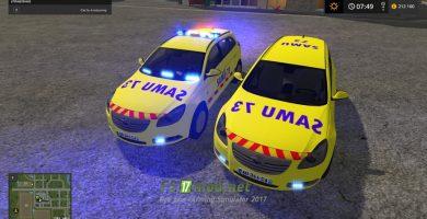 Мод на Opel VLM Du Samu73 для игры Фарминг Симулятор 2017