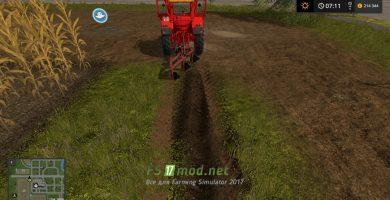 Unia 3 Furrow Plow