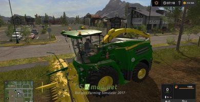 Модификация John Deere 8400i для игры FS 2017
