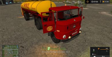 Мод на W50 Minol Semi-Trailer Final Version
