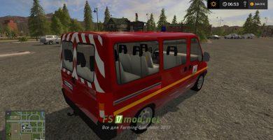 Мод на Citroen Jumper VTP Sdis 01