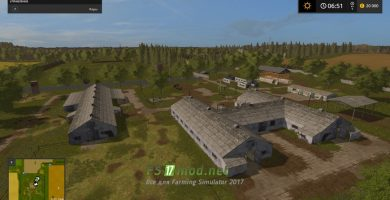 Мод на карту Бaлдeйкинo З для игры Симулятор Фермера 2017
