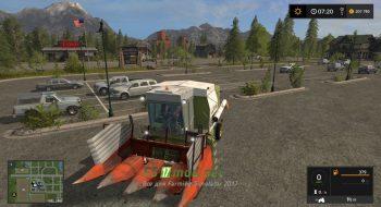 Мод на Fortschritt E514 для игры Farming Simulator 2017