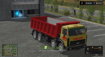 Мод на MАЗ-65152 MZKT для игры Симулятор Фермера 2017