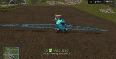Мод на Sprayer Berthoud для Farming Simulator 2017