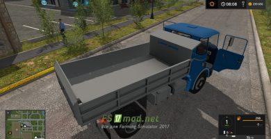Мод на Skoda Liaz 706 для Farming Simulator 2017
