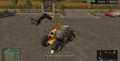 Мод на JCB 53670 Agri для игры Фермер Симулятор 2017