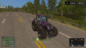 Мод на трактор New Holland T8.420 для Farming Simulator 2017