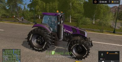 Мод на трактор New Holland T8.420
