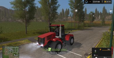 Мод на трактор MR K-744 P4 для Farming Simulator 2017