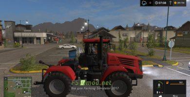 Мод на трактор MR K-744 P4