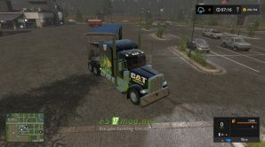 Мод на Caterpillar Trailer Bulk Ve Peterbilt 388 Vе