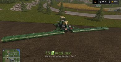 Мод на Krone Big M500 XXL для игры Фермер Симулятор 2017