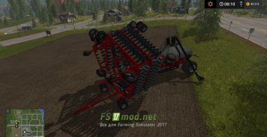 Модификация на Caseih Cart Air Seeder 32M для игры Farming Simulator 2017