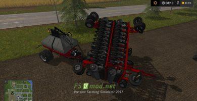 Модификация на Caseih Cart Air Seeder 32M