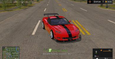 Автомобиль Corvette ZR1