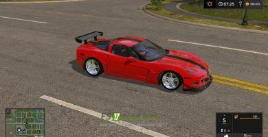 Мод на Corvette ZR1