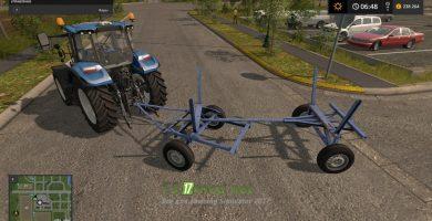 Мод на Прицеп для перевозки дерева в игре Farming Simulator 2017