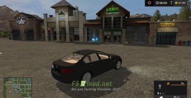 Мод на автомобиль BMW 5 Series F10