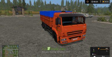 Мод на грузовик КАМАЗ 45144 для игры FS 2017