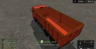 Мод на грузовик КАМАЗ 45144