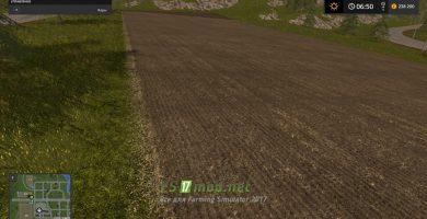 Мод на Грунтовую текстуру для игры Симулятор Фермера 2017