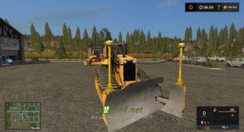 Мод на Caterpillar D6N для игры Фермер Симулятор 2017