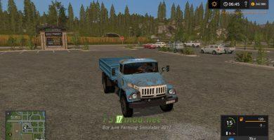 Мод на грузовик ЗИЛ 131 для игры FS 2017