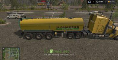 Zunhammer Zubringer с тягачём