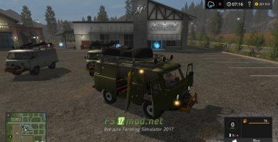 Мод на УАЗ Буханка для Farming Simulator 2017