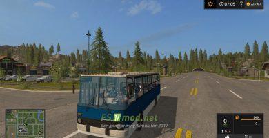 Мод на автобус Икарус
