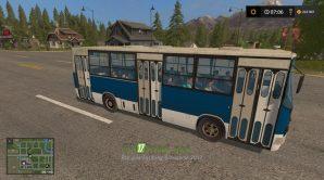 Мод на автобус Икарус для игры Farming Simulator 2017