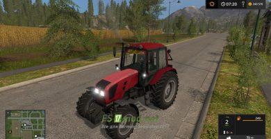 Мод на трактор МТЗ-1220.3 для Фарминг Симулятор 2017