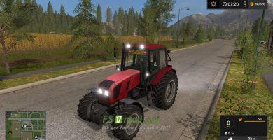 Мод на трактор МТЗ-1220.3