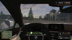 BMW 540I Xdrive G30 вид с салона
